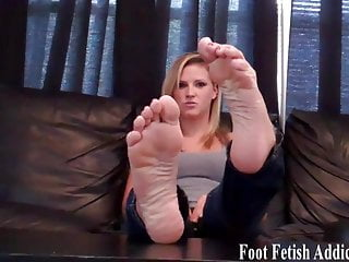 Constant cum production - My perfect white feet need constant pampering