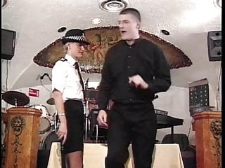 Police sexy woman - Young blonde police woman spanked by stud