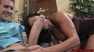 Jewels Jade Takes on the Giant Dick of Whitezilla