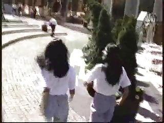 Nasty twins fucking Hungarian brunette twin sisters fucked hardcore