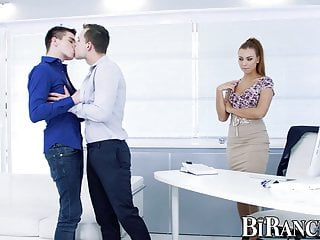 Gay office tube Office gay pavlos penetrated while eating redhead pussy