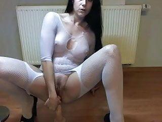 Sex dens Geile fotze fickt den dildo fuer mich