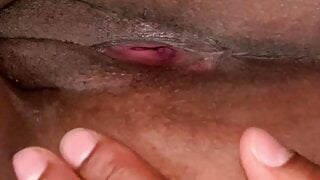 Freaky Co-Worker With Black Wet Pussy And Asshole