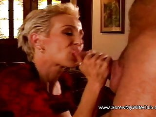 Old woman in sex - A sex with an old woman that makes them both arouse