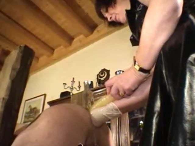 Russian Lesbian Anal Fisting