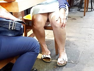 Free accidental hairy upskirt - Granny sexy legs feets, accidentally upskirt