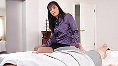 Sexy MILF Alana knows how to take care of a dick