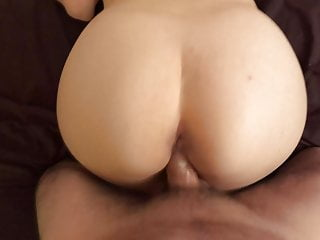 Free pussy from behind My husband get my pussy from behind and cum