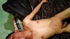 Cum on the Twink face