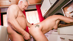 Amateur Euro - German Housewife Katey Cheat With Neighbour