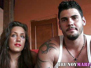 Spanish porno movies - El y ella dos bellezones hacen su primera porno