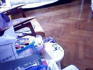 Sexy womans underwear youtube - Hacked laptop camera. woman in underwear doing needlework