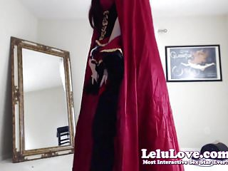 Women in erotic revealing costumes - Lelu love-webcam: revealed costumes and 2 sybian orgasms