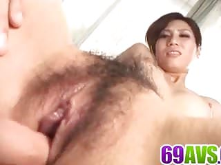 Bush dick is a killer Daiya nagare delights with tasty dick in her wet bush