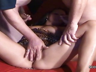 Milf private German milf in privat creampie gangbang by 10 stranger mens