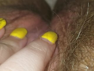 Pink erotica Pretty pink pussy and clit ring play- evie erotica