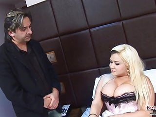 Silicone injected tits - Poorly tara sparx gets cock injection