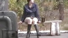 upskirt bench nudist -4