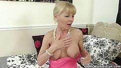 Grandma's pussy still has a lot of mileage left in it