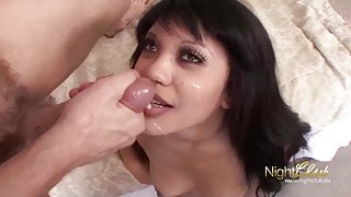 Cleaning Lady and her new Cock