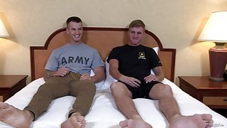 ActiveDuty Straight Sexy Military Muscle Hunks Bareback Fuck