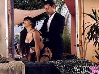 Carrera porn - Brunette bombshell mercedes carrera fucking a lucky stud