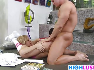 Erotic day dream movie Schoolgirl chastity lynn and her day dream