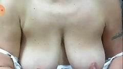 Mature Illymaus show your hairy pussy saggy tits