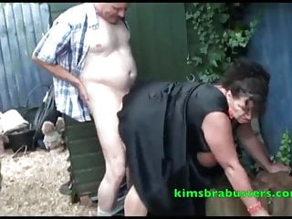Kims boob A spot of gardening for granny kim