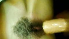 34yo Italian Slut Wife Takes a HUGE Dildo