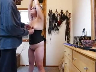 Abused sex slave wife punishment My slave wife in glasses punished
