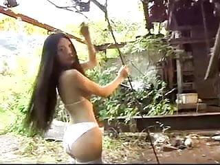 Asian outdoor fuck Cute asian outdoor