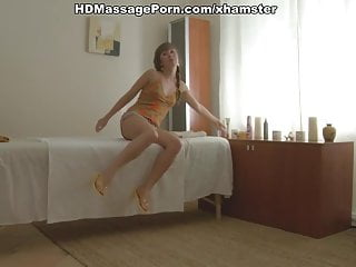 Fucked after erotic massage Nice girl erotic massage and fucked patiently