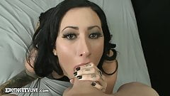 Tattooed Lily Lane Fucked Live By ERIC JOHN ErotiqueTVLive