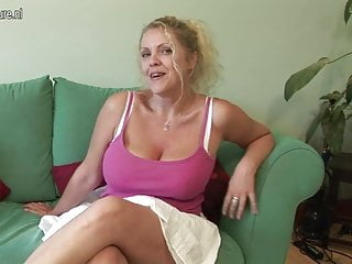 British grannie porn Big titted british mother shows off great rack and