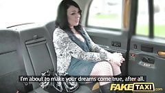 Fake Taxi caught by security one evening before big facial