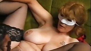 Unforgettable Brunette Shorhair-Milf with Huge-Boobs