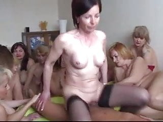 Women being fucked by one man So special, russian guy fucks 10 women one by one