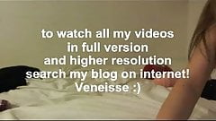 Veneisse play multiple many big dildo all together & fisting