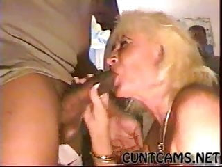 Tonya cohf cum on her face - Cohf granny bukkake facial cum in face