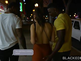 Brunettes with big ass porn - Blackedraw they took turns in my girlfriends ass