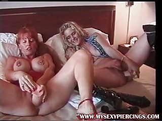 Milfs with - My sexy piercings pierced milfs with huge toys fisting