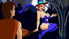 robin and witches.wmv
