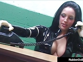 Latex spacing commands - Latex commander rubber doll strapon fucks slave cadet