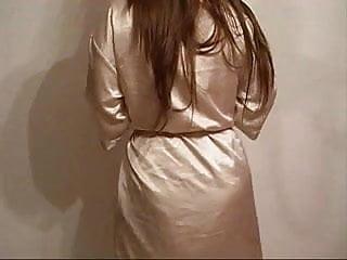 Liquidation of adult dds New liquid satin long night dress