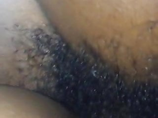 Deep crevice bottom of foot Ebony - bbc hits the bottom of her wet pussy