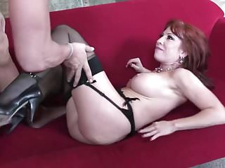 Mature bald pussy and cock - Bald dude is fucking a milf shaved redhead.