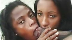 two black whores fucked by bbc near to beach