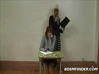 Young and old lesbian bdsm tube - Dominant lesbian teacher