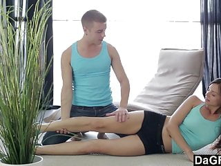 Anal fisting import video g Dagfs stretching is important before a hardcore anal fuck
